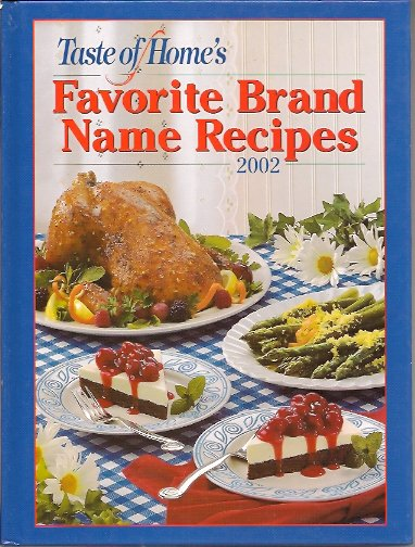 Image for Taste of Home's Favorite Brand Name Recipes 2002