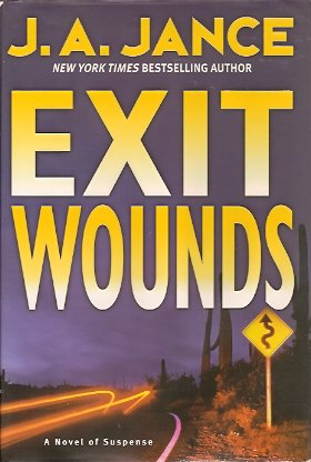 Image for Exit Wounds:  A Novel of Suspense