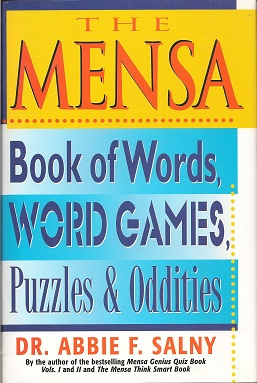 Image for The MENSA Book of Words, Word Games, Puzzles & Oddities