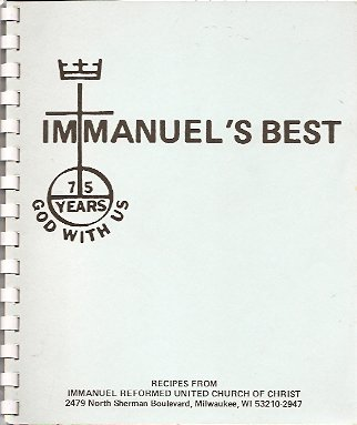 Image for Immanuel's Best:  Recipes from Immanuel Reformed United Church of Christ