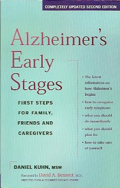 Image for Alzheimer's Early Stages:  First Steps for Family, Friends and Caregivers