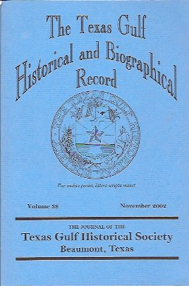 Image for The Texas Gulf Historical and Biographical Record