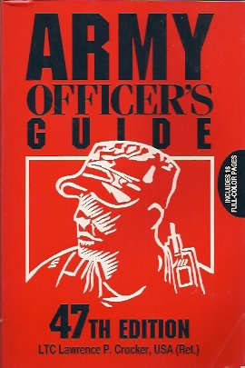 Image for Army Officer's Guide
