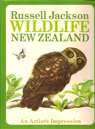 Image for Wildlife of New Zealand:  An Artist's Impression