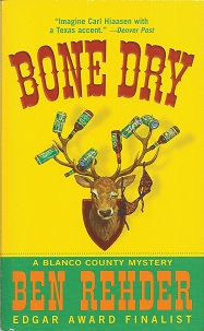 Image for Bone Dry:  A Blanco County Mystery