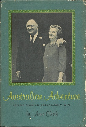 Image for Australian Adventure:  Letters from an Ambassador's wife