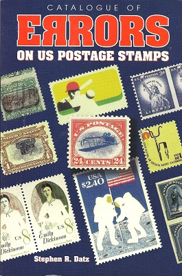 Image for Catalogue of Errors on US Postage Stamps