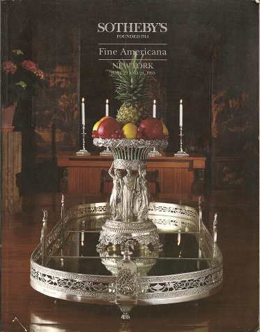 Image for Fine Americana  Auction June 23 and 24, 1993 - Sale 6444