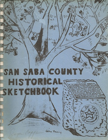 Image for San Saba County Historical Sketchbook