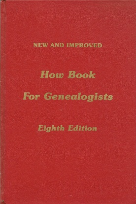 Image for New and Improved How Book for Genealogists