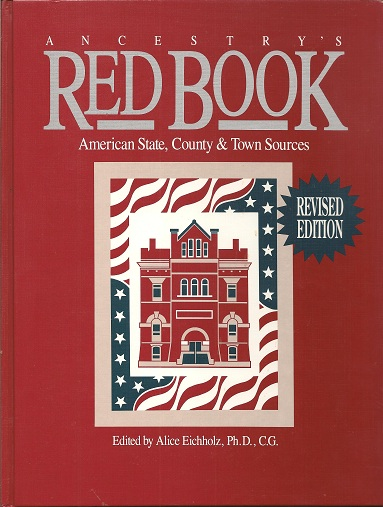 Image for Ancestry's Red Book  American State, County and Town Sources, 2nd Edition