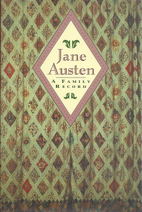 Image for Jane Austen, A Family Record