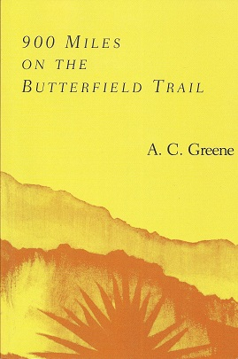 Image for 900 Miles on the Butterfield Trail