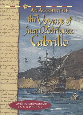 Image for An Account of the Voyage of Juan Rodriguez Cabrillo
