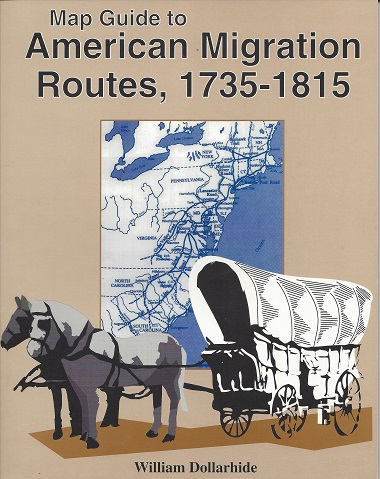 Image for Map Guide to American Migration Routes, 1735 - 1815