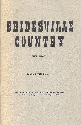 Image for Bridesville Country: A Brief History