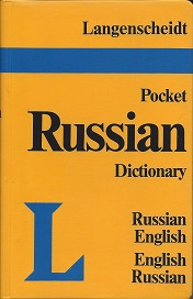 Image for Langenscheidt's Pocket Russian Dictionary:  Russian-English, English-Russian