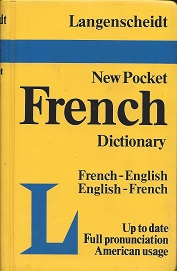 Image for Langenscheidt's Pocket French Dictionary: French-English English-French