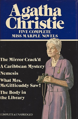 Image for Five Complete Miss Marple Novels: The Mirror Crack'd / A Caribbean Mystery / Nemesis / What Mrs. McGillicuddy Saw! / The Body in the Library