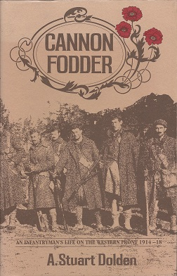 Image for Cannon Fodder:  An Infantryman's Life on the Western Front, 1914-18
