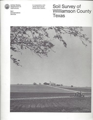 Image for Soil Survey of Williamson County Texas