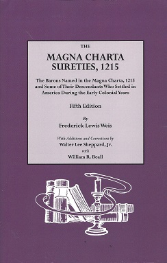 Image for The Magna Charta Sureties, 1215: The Barons During the Early Colonial Years