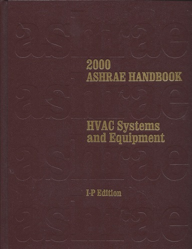Image for Heating, Ventilating and Air-Conditioning Systems and Equipment: 2000 ASHRAE Handbook (Inch-Pound Edition)