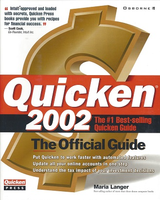Image for Quicken 2002: The Official Guide