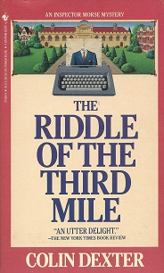Image for The Riddle of the Third Mile