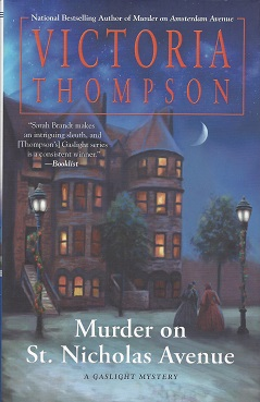 Image for Murder on St. Nicholas Avenue: A Gaslight Mystery