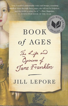 Image for Book of Ages: The Life and Opions of Jane Franklin