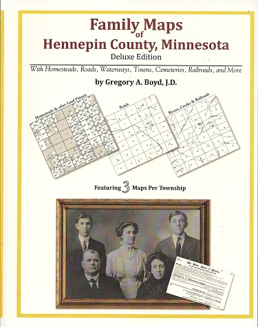 Image for Family Maps of Hennepin County, Minnesota, Deluxe Edition
