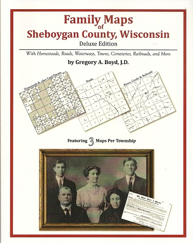 Image for Family Maps of Sheboygan County, Wisconsin, Deluxe Edition