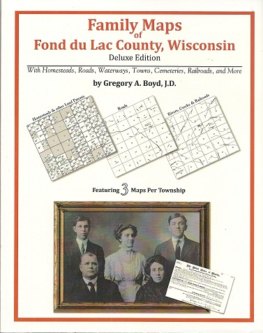 Image for Family Maps of Fond du Lac County, Wisconsin, Deluxe Edition