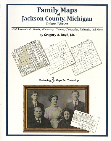Image for Family Maps of Jackson County, Michigan, Deluxe Edition