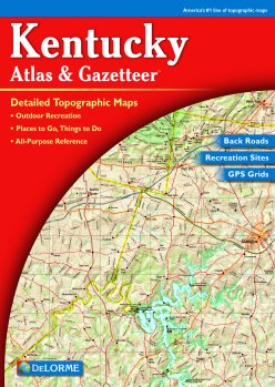 Image for MAP: Kentucky Atlas & Gazetteer