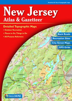 Image for MAP: New Jersey Atlas & Gazetteer