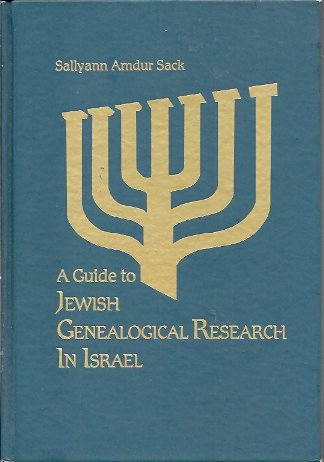 Image for Guide to Jewish Genealogical Research in Israel