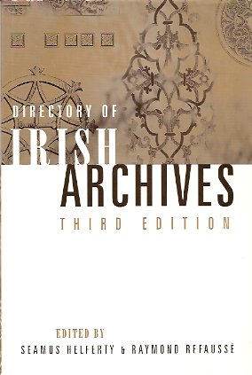 Image for Directory of Irish Archives