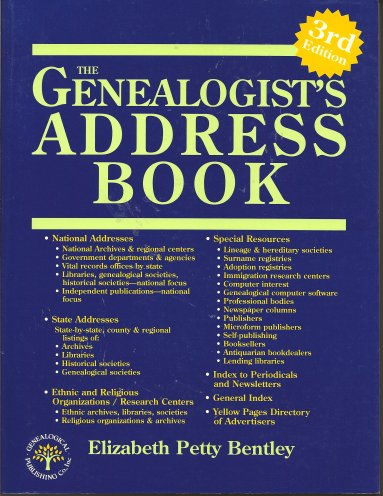 Image for Genealogist's Address Book