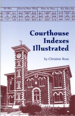 Image for Courthouse Indexes Illustrated