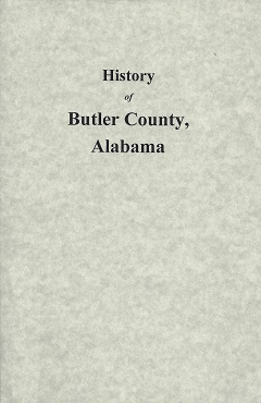 Image for History of Butler County, Alabama:  From 1815- to 1885