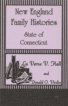 Image for New England Family Histories:  State of Connecticut