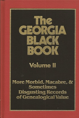 Image for The Georgia Black Book