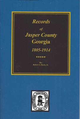 Image for Records of Jasper County, Georgia