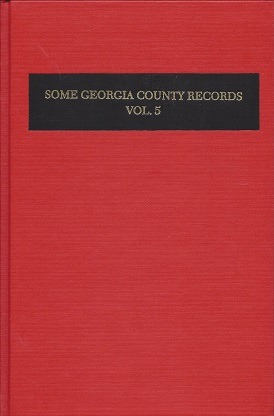 Image for Some Georgia County Records