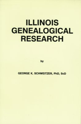 Image for Illinois Genealogical Research