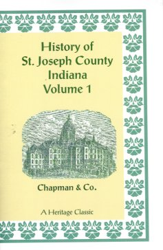 Image for History of St. Joseph County, Indiana