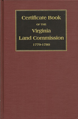 Image for Certificate Book of the Virginia Land Commission 1779 1780