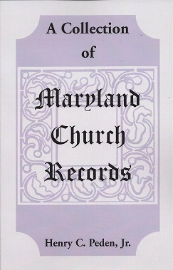 Image for A Collection of Maryland Church Records